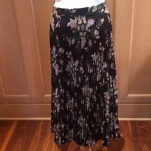 Midi pleated ALC skirt